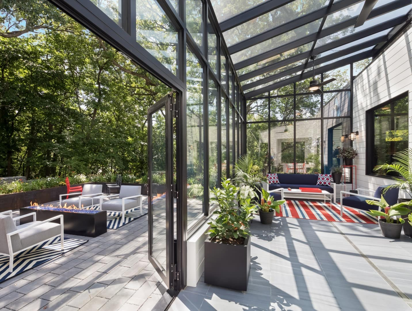 modern enclosed conservatory by sustainable9