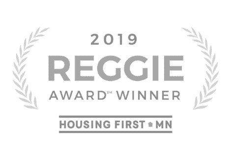 Reggie award winner logo for sustainable 9